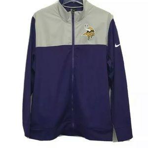 Nike Minnesota Vikings NFL Full Zip Jacket